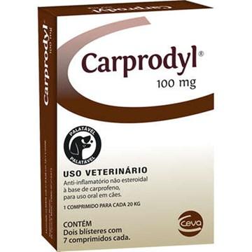 Anti-Inflamatório Ceva Carprodyl para Cães - 14 Comprimidos