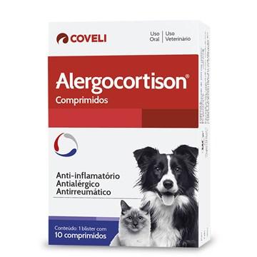 Anti-inflamatório Coveli Alergocort para Cães e Gatos
