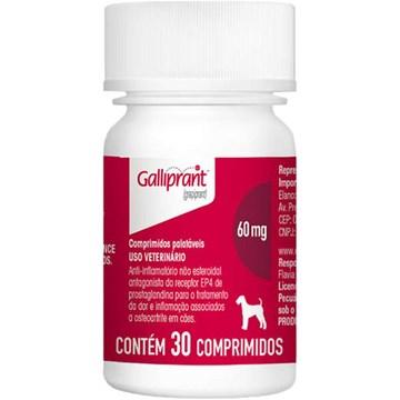 Anti-Inflamatório Elanco Galliprant 60 Mg para Cães 30 Comprimidos