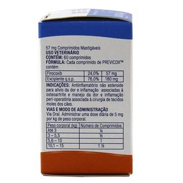 Anti-Inflamatório Merial Previcox 57 mg