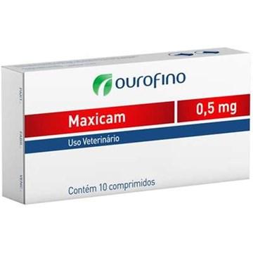 Anti-inflamatório Ourofino Maxicam - 08 Comprimidos