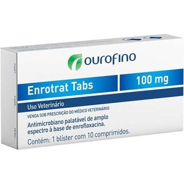 Antimicrobiano Ourofino Enrotrat Tabs de 10 Comprimidos