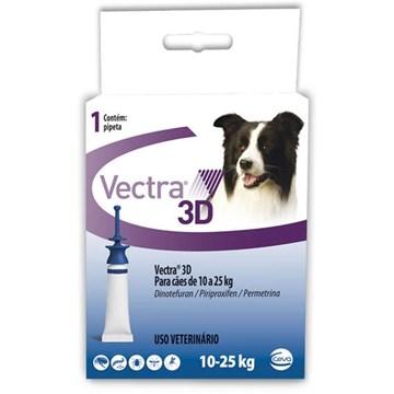 Antipulgas e Carrapatos Ceva Vectra 3D 3,6 mL para Cães de 10 a 25 Kg
