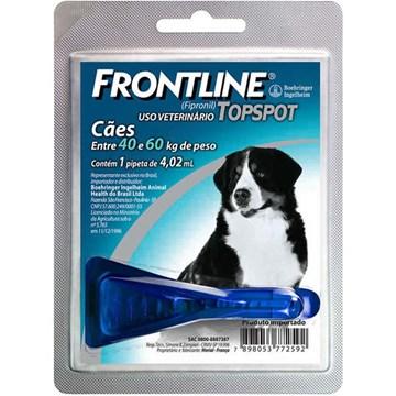 Antipulgas e Carrapatos Frontline Top Spot para Cães de 40 a 60 Kg