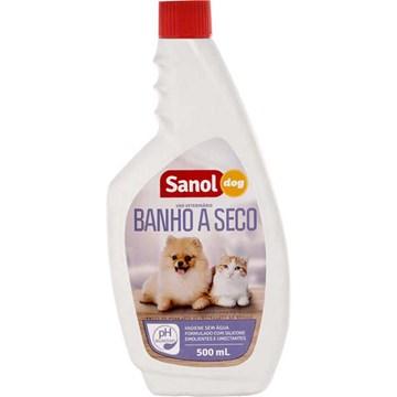 Banho a Seco Sanol Dog