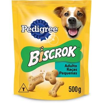 Biscoito Pedigree Biscrok para Cães Adultos de Raças Pequenas
