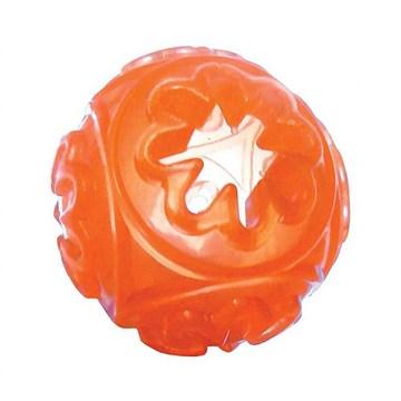 Brinquedo Chalesco para Cães Totóys Bola Snack Ball de Borracha - Cores Sortidas