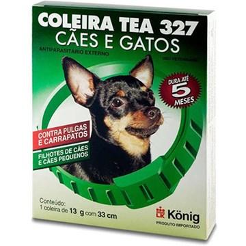 Coleira Antiparasitária König Externo 33 cm para Cães