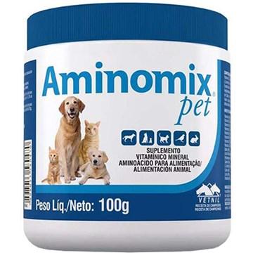 Complexo Vitamínico Aminomix Pet em Pó 100 Gr