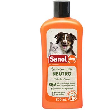 Condicionador Sanol Dog Neutro
