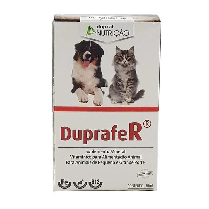 Duprafer 30ml Duprat Suplemento Pele Cães e Gatos 30 Ml