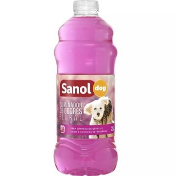 Eliminador de Odores Sanol Dog Floral