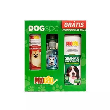 Kit Dogs Procão para Cães Shampoo, Colônia e Condicionador