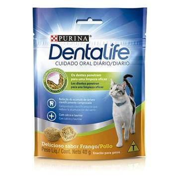 Petisco Nestlé Purina DentaLife para Gatos 40 Gr