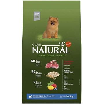 Ração Affinity Guabi Natural Cordeiro e Aveia para Cães Adultos Raças Mini e Pequena 10,1 Kg