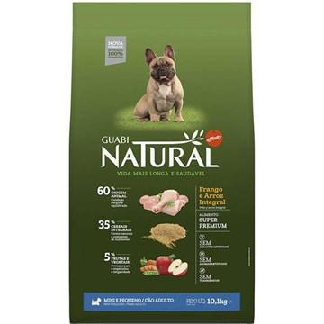 Ração Affinity Guabi Natural Frango e Arroz Integral para Cães Adultos Raças Mini e Pequena 10,1 Kg