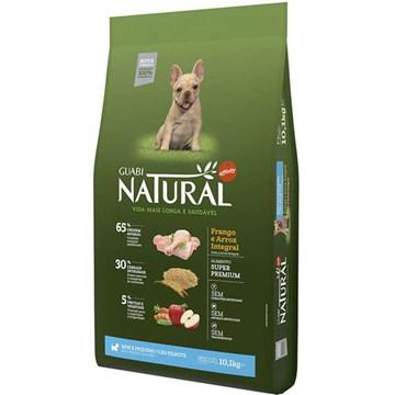 Ração Affinity Guabi Natural Frango e Arroz Integral para Cães Filhotes Raças Mini e Pequena 10,1 Kg