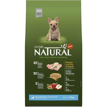 Ração Affinity Guabi Natural Frango e Arroz Integral para Cães Filhotes Raças Mini e Pequena 2,5 Kg