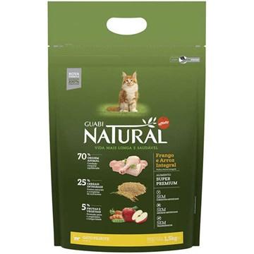 Ração Affinity Guabi Natural Frango e Arroz Integral para Gatos Filhotes 1,5 Kg