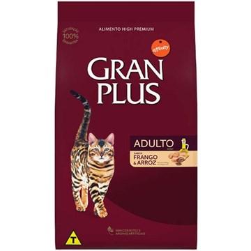 Ração Affinity PetCare Gran Plus Frango e Arroz para Gatos Adultos 10,1 Kg