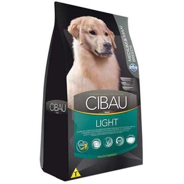 Ração Farmina Cibau Light para Cães Adultos com Tendência Obesidade de Raças Médias e Grandes