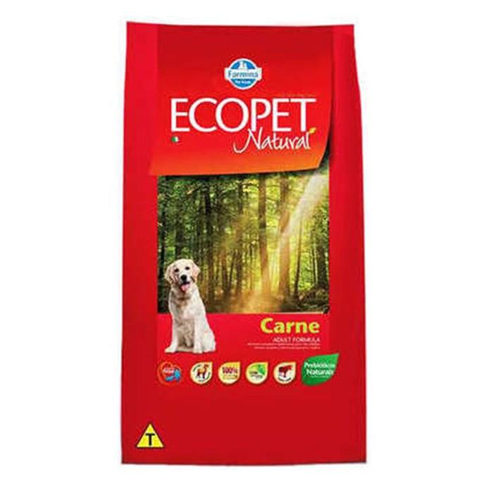 Ração Farmina Ecopet Natural Carne para Cães Adultos