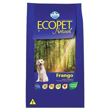 Ração Farmina Ecopet Natural Frango para Cães Adultos de Raças Médias e Grandes