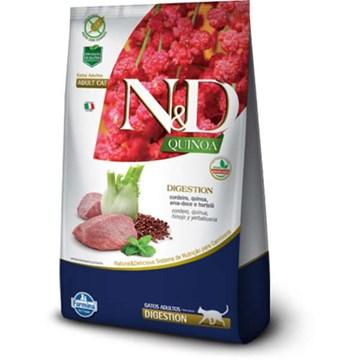 Ração Farmina N&D Quinoa Digestion Cordeiro para Gatos Adultos 7,5 Kg