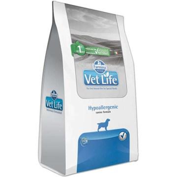Ração Farmina Vet Life Natural Hypoallergenic para Cães Adultos com Problemas de Pele