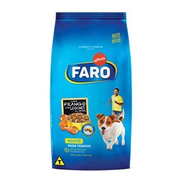 Ração Faro para Cães Adultos Raças Pequenas Sabor Frango e Legumes 10,1 Kg
