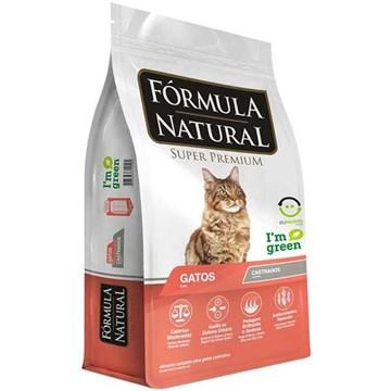 Ração Fórmula Natural para Gatos Castrados