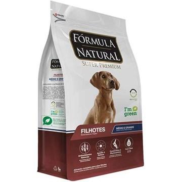 Ração Fórmula Natural Super Premium para Cães Filhotes Raças Médias e Grandes 15 Kg