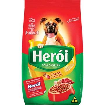 Ração Guabi Herói Carne e Cereais para Cães Adultos 10,1 Kg