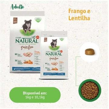 Ração Guabi Natural Grain Free Frango e Lentilha para Cães Adultos Raças Mini e Pequenas 10,1 Kg