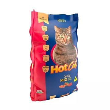 Ração Hot Cat Mix Gatos Adultos E Filhotes