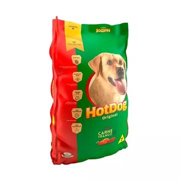 Ração Hot Dog Original para Cães Adultos Sabor Carne e Frango