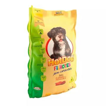 Ração Hot Dog para Cães Filhotes Sabor Carne e Frango