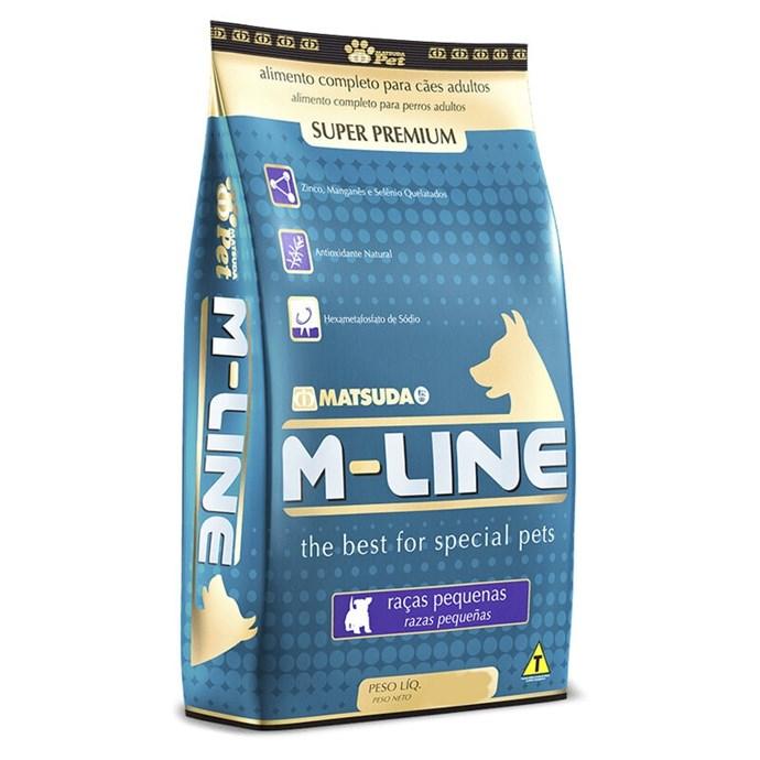 Ração M-Line Adulto de Pequenas Raças 2,5 Kg