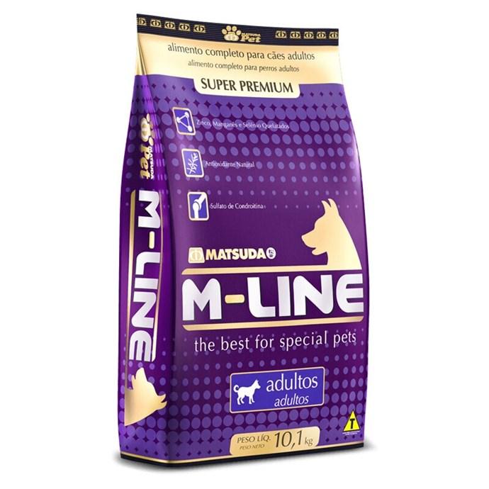 Ração M-Line Cães Adultos 15 Kg