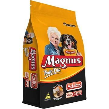 Ração Magnus Todo Dia Sabor Carne para Cães Adultos 15 Kg