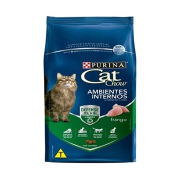 Ração Nestlé Purina Cat Chow Adultos Ambientes Internos Frango 10,1 Kg