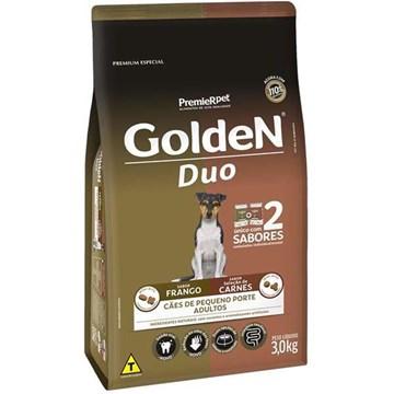 Ração Premier Golden DUO Cães Adultos Frango e Seleção de Carnes ao Molho
