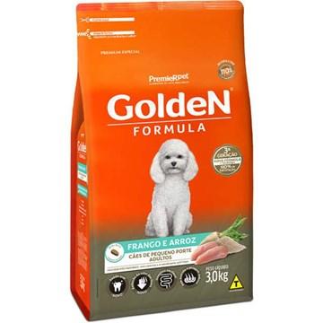 Ração Premier Golden Formula Cães Adultos Frango e Arroz Mini Bits