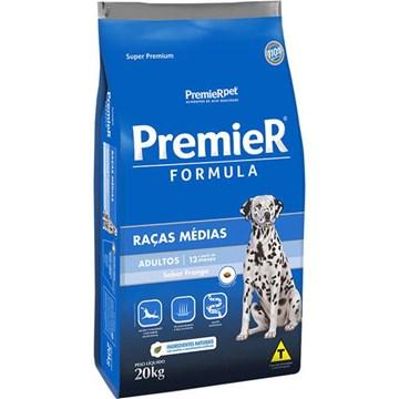 Ração Premier Pet Formula Frango Cães Adultos Raças Médias