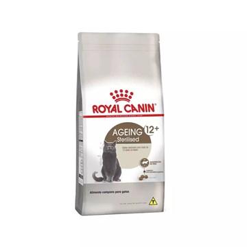 Ração Royal Canin Feline Health Nutrition Sterilised para Gatos Adultos Castrados Acima de 12 Anos