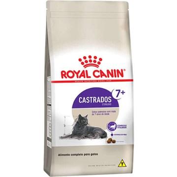Ração Royal Canin Feline Health Nutrition Sterilised para Gatos Adultos Castrados Acima de 7 anos 4 Kg