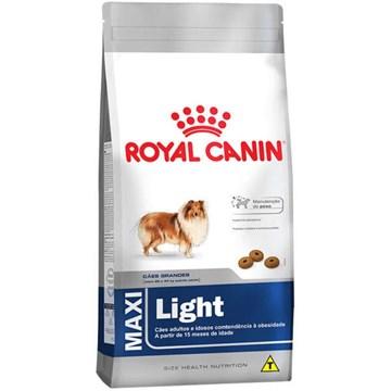 Ração Royal Canin Maxi Light para Cães Adultos ou Idosos obesos de Raças Grandes