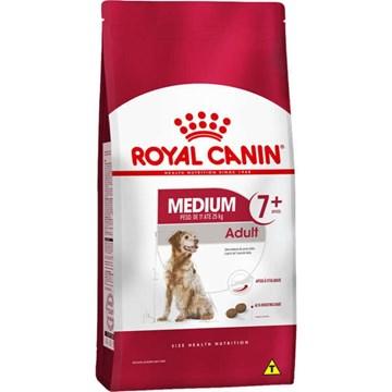 Ração Royal Canin Medium Adult 7+ para Cães Adultos de Raças Médias com 7 Anos ou mais