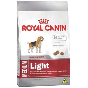Ração Royal Canin Medium Light para Cães Adultos ou Idosos Obesos de Raças Médias