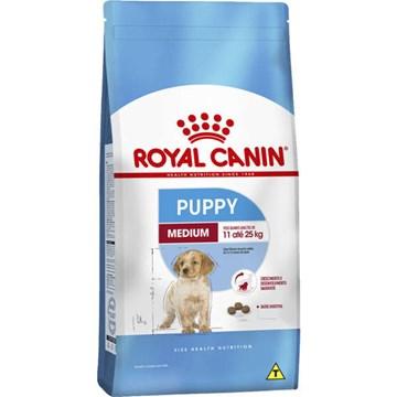 Ração Royal Canin Medium Puppy para Cães Filhotes de Raças Médias de 2 a 12 Meses de Idade